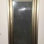 Окно коричневое в Хайфе