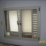 Двухстворчатое окно в бельгийском стиле
