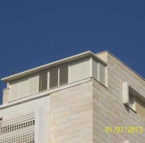 סגירת מרפסת כולל גג של עלית