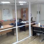 Разделение пространства в офисе