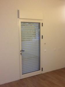 דלת אלומיניום למרפסת