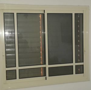 חלון קליל דגם 1700 כולל חלוקות סגנון בלגי