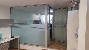 סגירת מתחם בתוך משרד