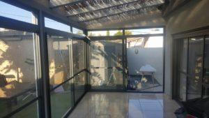 Закрытие балкона